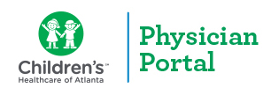 Children's Healthcare of Atlanta Physician Portal